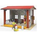 Bruder 62621 - Cow Barn with Milking Machine