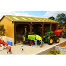 Brushwood Toys BBB160 - 4 Bay Open Barn