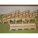 Brushwood Toys BT2074 - Set of 4 Barrier Feeder