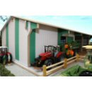 Brushwood Toys BT8920 - Monster 4 Bay Utility Shed