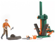 Introducation photo of toy forestry figures and accessories