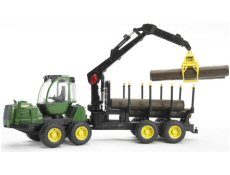 Introducation photo of toy forestry harvesters and forwarders