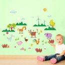 Harry & Bear - Farm Animal Wall Stickers