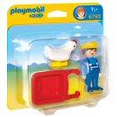 Playmobil 6793 - 1.2.3 Farmer with Wheelbarrow