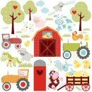 RoomMates - Happi Barnyard Wall Stickers