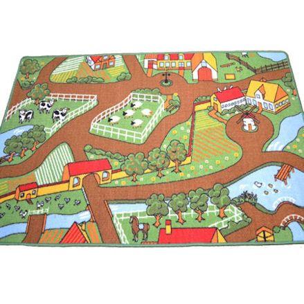 A2Z 4 Kids Large Farmyard Play Mat