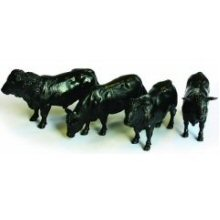 Britains Aberdeen Angus Cattle