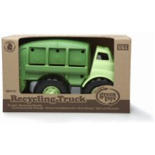 Opened boxed Green Toys recycling truck