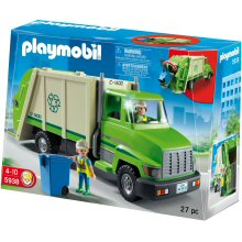 Blue box of the Playmobil recycling truck