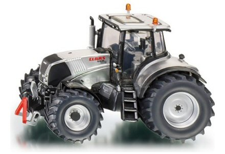 Siku limited edition Claas tractor in silver