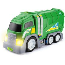 Toyrific road roller truck with head lights on