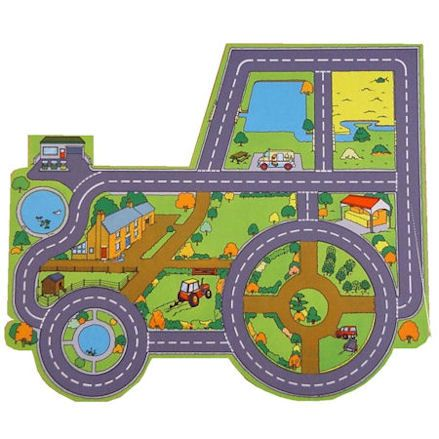 Be-Active: Giant Tractor Farm Playmat