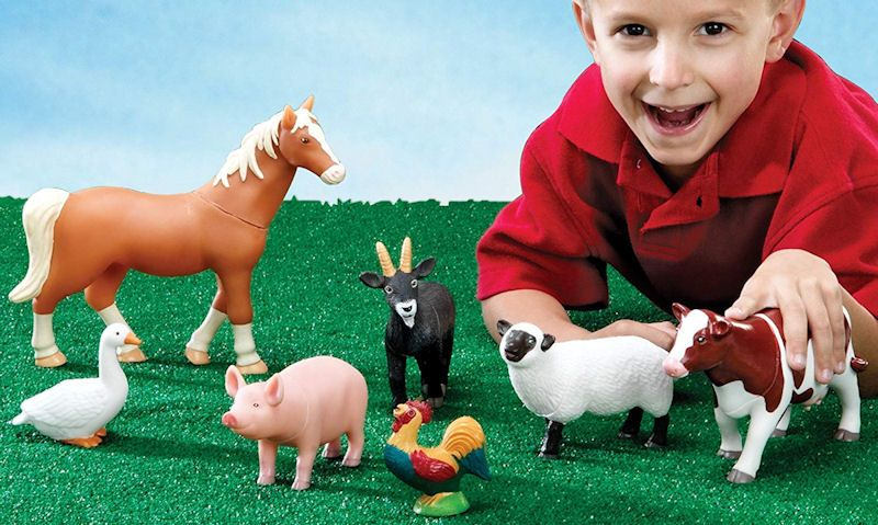 Best big toy farm animals (quality but chunky figures) - Toy
