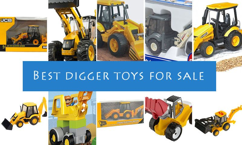 Top 10 Toy Diggers