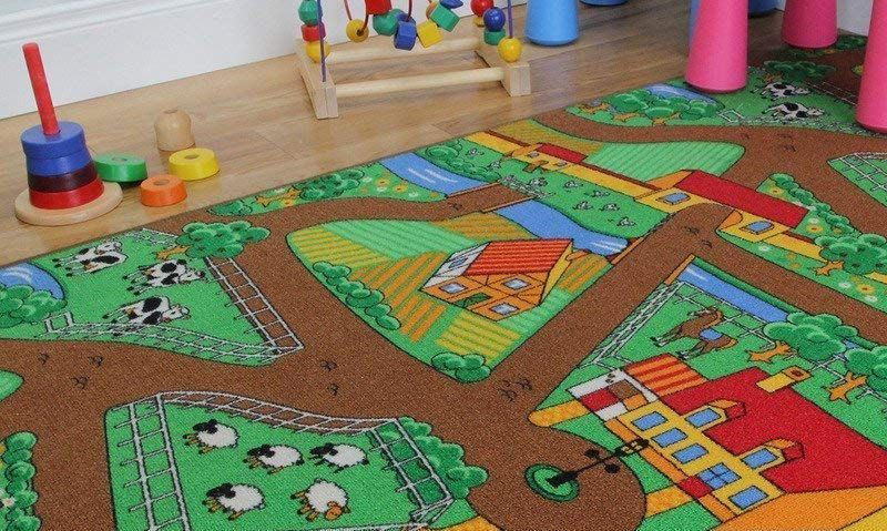 Best Farm Play Mats With Reversible Side For Tractors