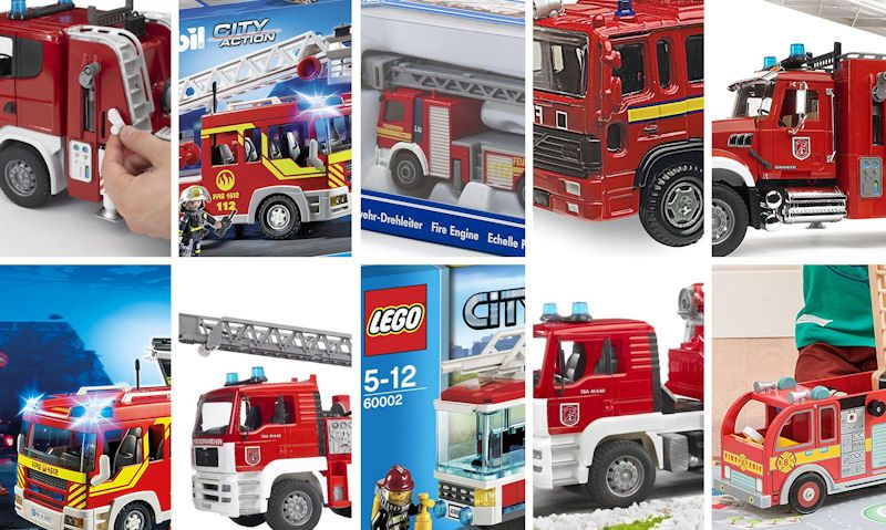 Best red toy fire engines