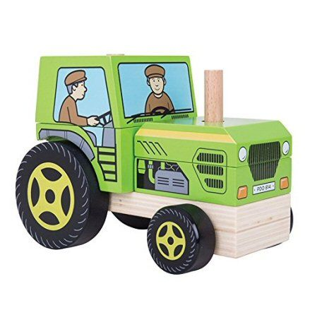 Bigjigs Toys BB125 Stacking Tractor