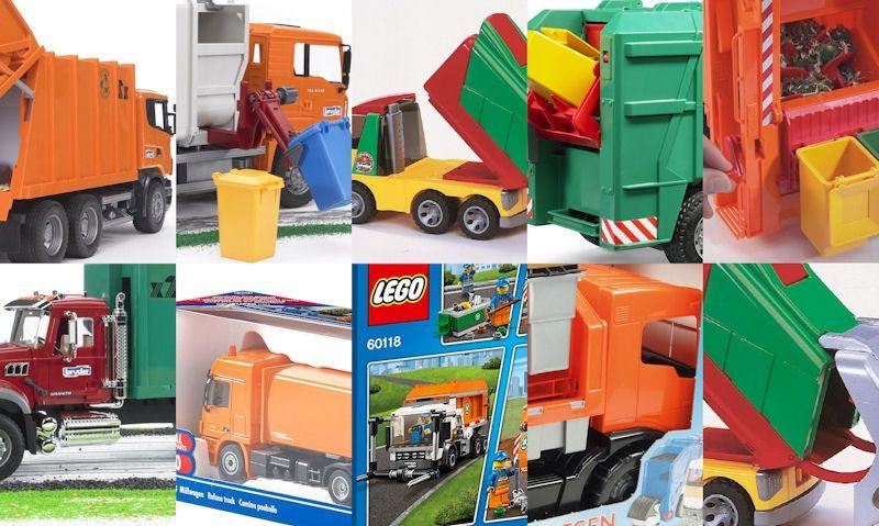 Bin lorry toys