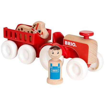 BRIO 30265 Farm Tractor Set