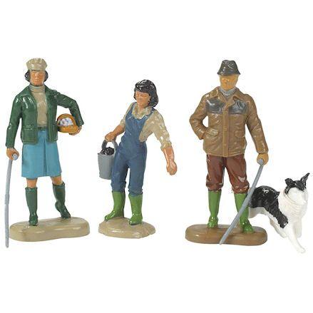 Britains 40954 Farming Family, Lineup