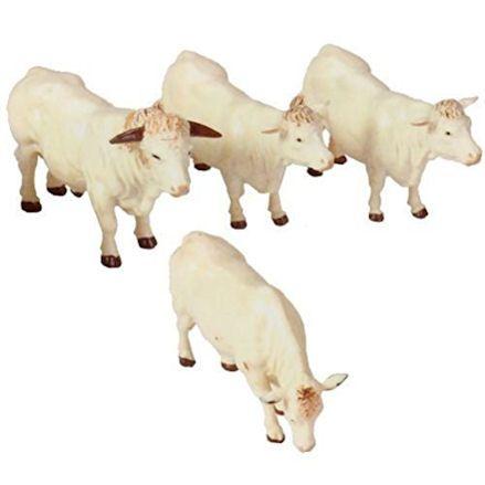Britains 40962 Charolais Cattle Family
