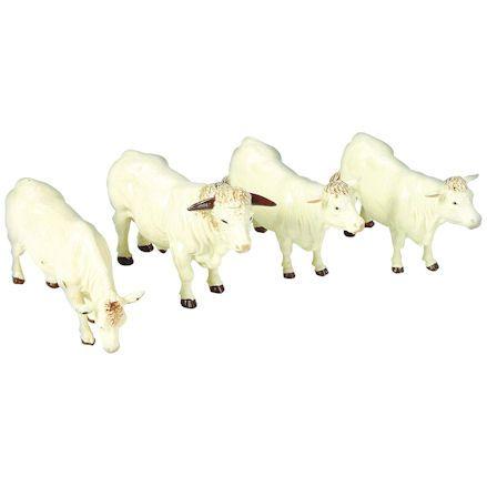 Britains 40962 Charolais Cattle, 1:32 Scale