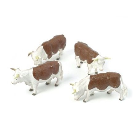 Britains 40964 Hereford Cattle, 1:32 Scale