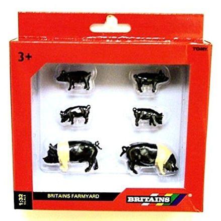 Britains 40965: Saddleback Pigs, Boxed