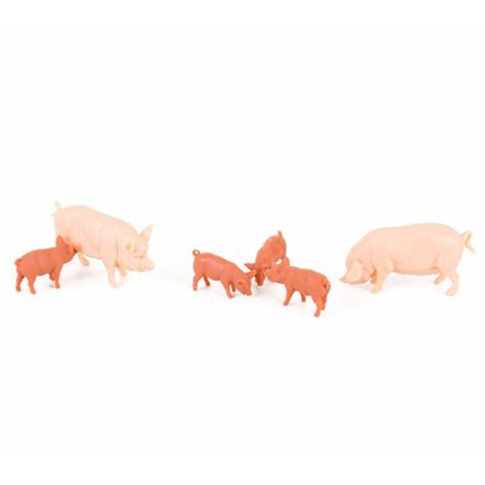 Britains 40966 Large White Pigs Family