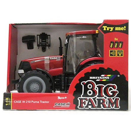 Britains 42424 Big Farm Case IH 210 Puma Tractor, Boxed