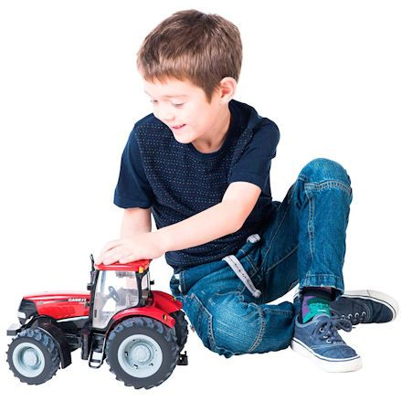 Britains 42424 Big Farm Case IH 210 Puma Tractor, Child Playing