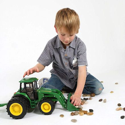 Britains 42425 Big Farm John Deere 6830S Tractor, Loader