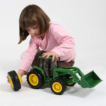 Britains 42425 Big Farm John Deere 6830S Tractor, Wheels