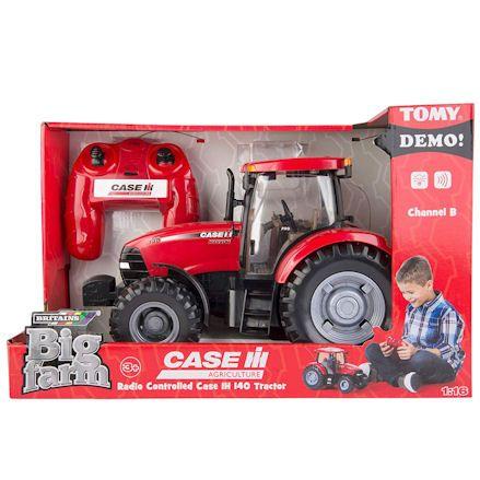 Britains 42600 Big Farm Case IH 140 R/C Tractor, Boxed