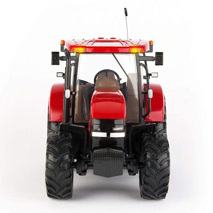 Britains 42600 Big Farm Case IH 140 R/C Tractor, Front View