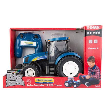 Britains 42601 Big Farm New Holland T6070 RC Tractor, Boxed