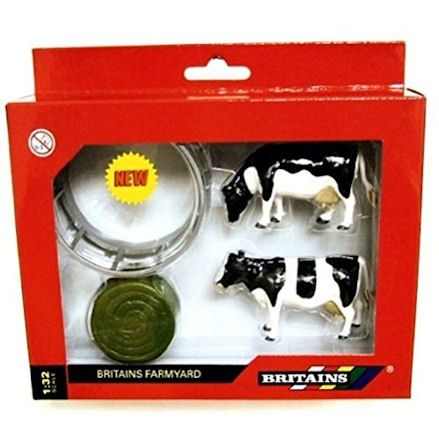 Britains 42715 Cattle Feeder Set, Boxed