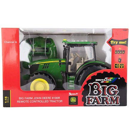 Britains 42838 Big Farm John Deere 6109R R/C Tractor, Boxed