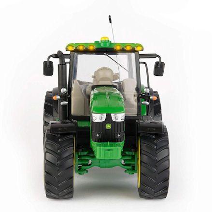 Britains 42838 Big Farm John Deere 6109R R/C Tractor, Front View
