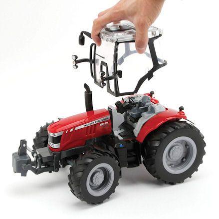 Britains 43078 Big Farm Massey Ferguson 6613 Tractor, Cab