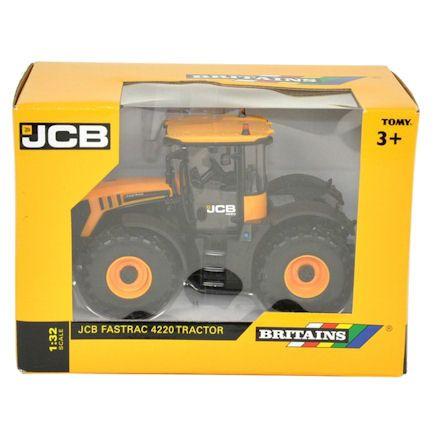 Britains 43124: JCB 4220 Fastrac Tractor, Boxed
