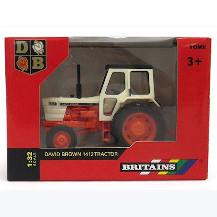 Britains 43154 David Brown 1412 Tractor, Boxed