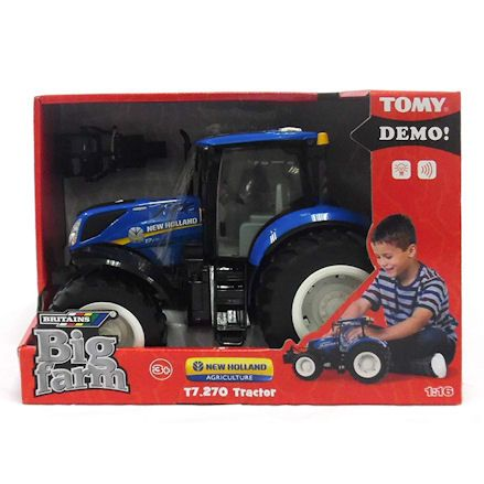 Britains 43156 Big Farm New Holland Tractor, boxed