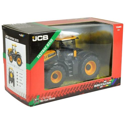 Britains 43206 JCB 8330 Fastrac Tractor, Boxed
