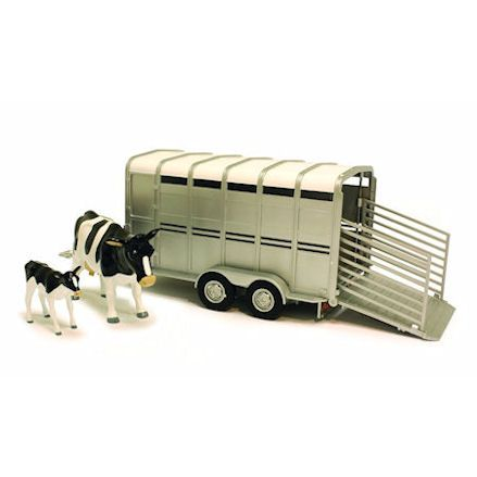Britains Cattle Trailer with cows