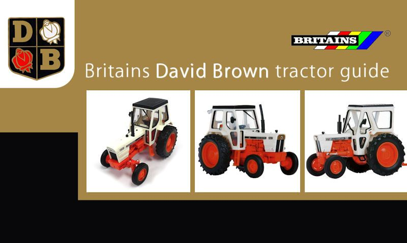 Britains David Brown tractors guide