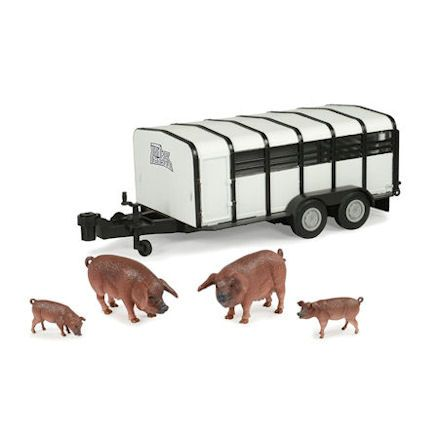 ERTL Hog Trailer with Hogs