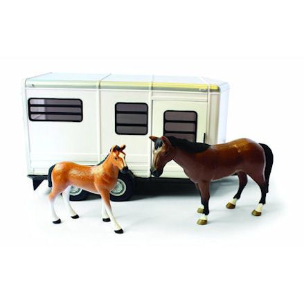 Britains Horse Trailer with Horse & Foal