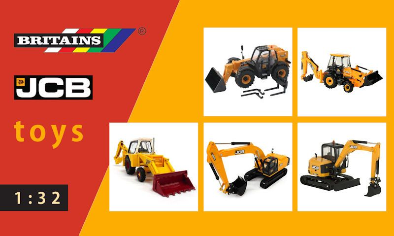 Britains JCB toys guide