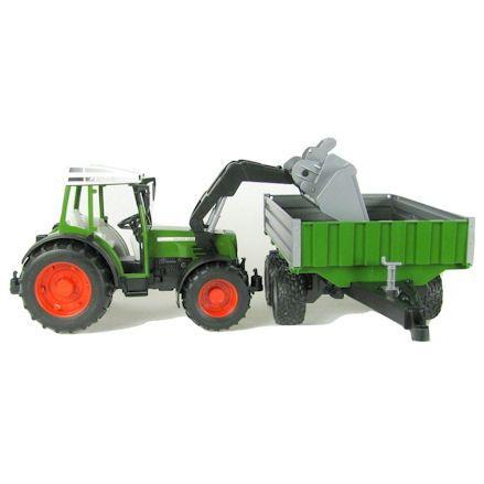 Bruder 01999 Fendt 209 S Tractor, Front Loader